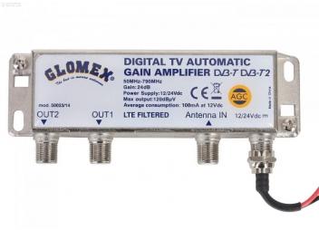 Amplificateur automatique d'antenne GLOMEX 50023/14