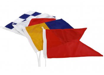 Alphabet Flags 30x35 cm