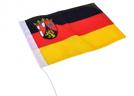 Flag - Rhineland-Palatinate with Coat of Arms
