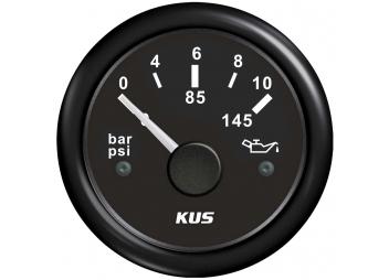 Öldruckanzeige 0-10 bar / 52 mm