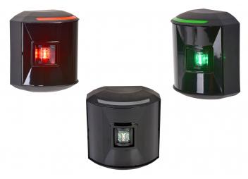 LED Positionsleuchten Set Serie 44 / schwarzes Gehäuse