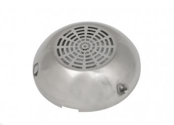 Ventilatore per coperta con coperchio in acciaio inox