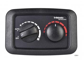 Webasto - Thermostat avec commande de ventilateurs
