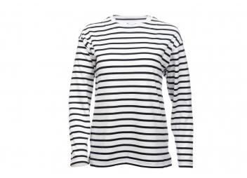 Bretonisches Damen Shirt / weiß-blau