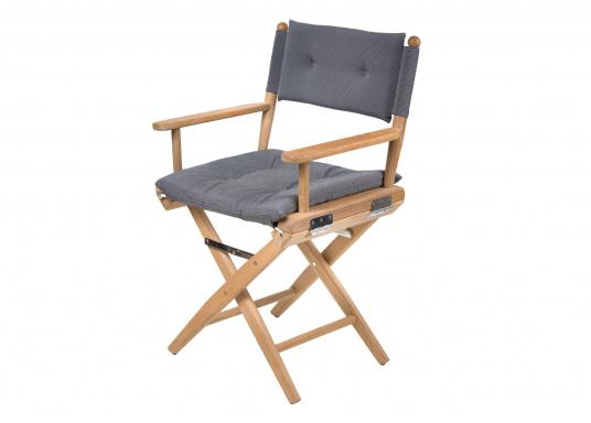 REGISSEUR Teak Foldable Chair / anthracite / non-oiled