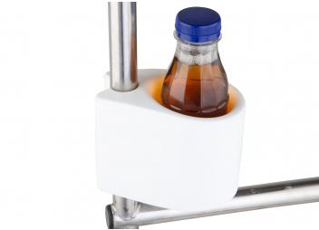 Soporte de vasos universal CLIP-ON / blanco