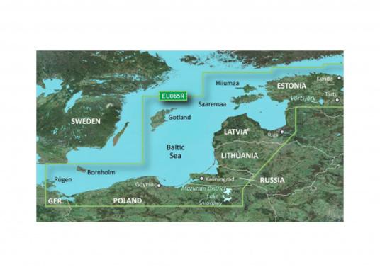 BlueChart G3 EU065R Baltic Sea and Baltic Coast