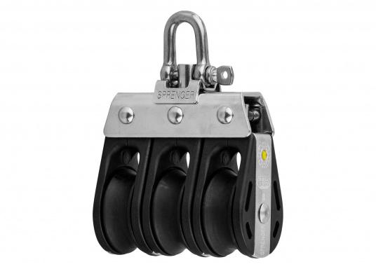 S Block with Swivel / 8 mm / plain bearing