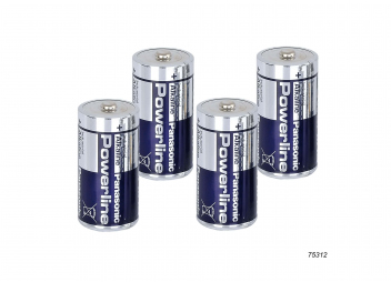BABY-Batterien / LR 14 / 4er Set