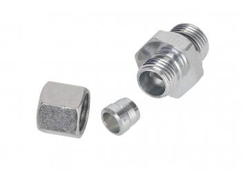 Verschraubung M22 x 1,5 / 10mm Rohr / für SEPAR SWK 2000/10 Einzelfilter