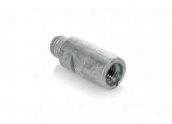 Anode en zinc pour Volvo Penta / axe pour circuit de refroidissement