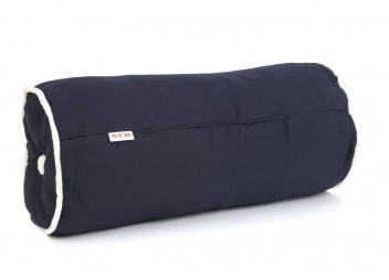 Kapok Bolster / Navy Blue