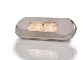 LED-Stufenleuchte, warm weiß / 12/24 V