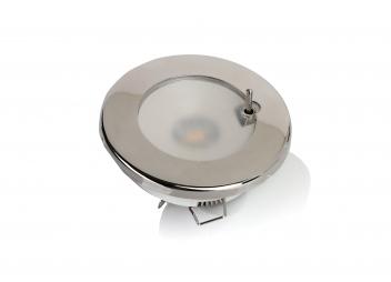 Plafoniera a LED - TED S / Acciaio inossidabile lucido