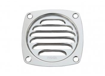 Grille de ventilation inox sans manchons
