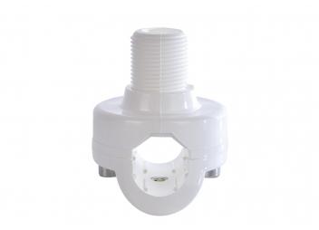 Antennenhalter, Relingsmontage / breite Basis