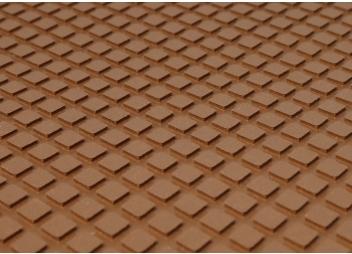 Anti-Slip Deck Covering / brown / diamond pattern