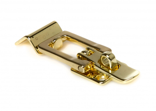 Lever lock with Angled Counter Plate / Brass