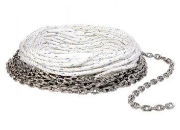 Combined Rope with Chain Forerunner / Stainless Steel