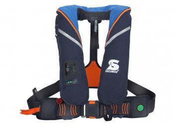 Rettungsweste SURVIVAL220 / blau/orange / 220 N