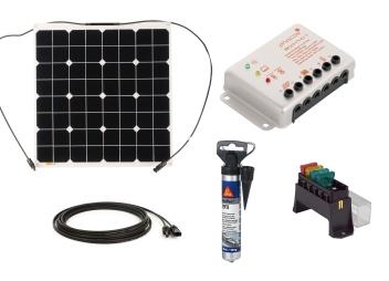 Solar Starter Set: Module Nordic 54 W