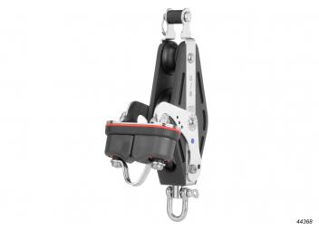 S-Violinblock mit Wirbel, Unterbügel und Klemme / 12 mm / Nadellager