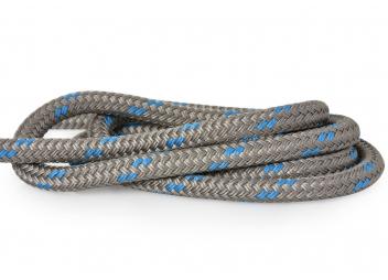DOCK-FLEX - Cima da ormeggio titanio/blu