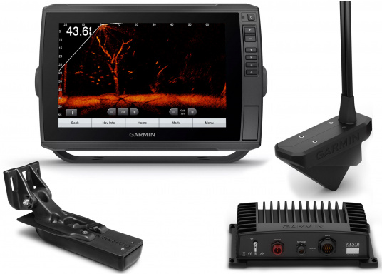 Echomap Ultra 102sv inkl. LiveScope Set & Heckgeber GT54UHD-TM