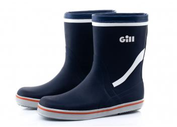 Short Yachting Boots / dark blue