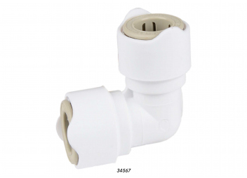 Connect Plumbing System / angled connector