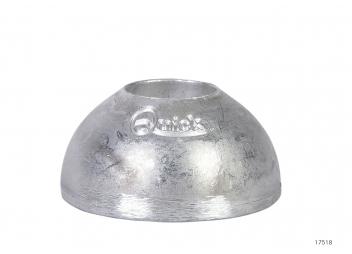 Anode aluminium pour propulseur d'étrave QUICK BTQ110 / BTQ125