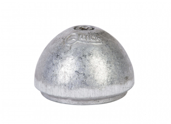 Anode aluminium pour propulseur d'étrave QUICK BTQ140
