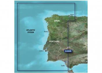 BlueChart g3 EU009R / Portugal - Nord-Ouest Espagne