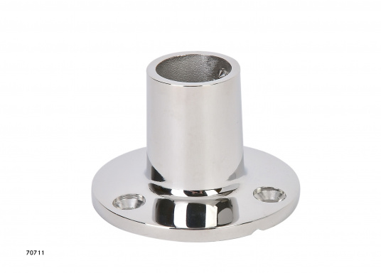 Piede in acciaio inossidabile / 90°