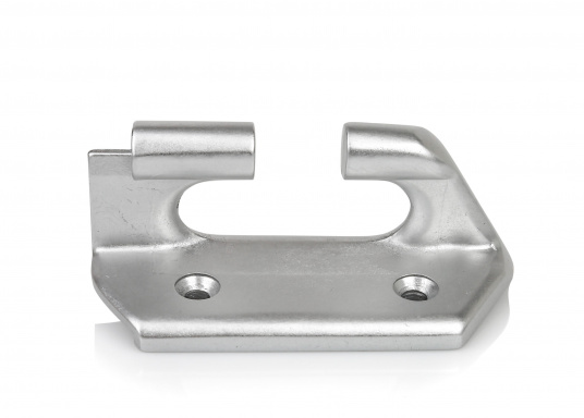 Railing Track End Piece / starboard side