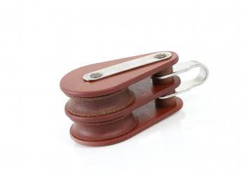 Poulie double à anneau HYE / 12 mm / à friction