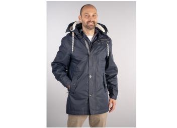 NILAS All-weather Jacket / navy blue