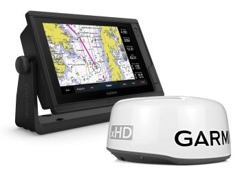 GPSMAP 922 PLUS with GMR 18 HD + Radar Antenna