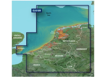 BlueChart G3 Vision EU018R Benelux Offshore and Inland