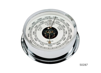 PACIFIC 120 Barometer / chrome-plated
