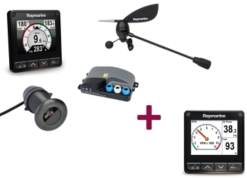 i70s Multifunktionsinstrument inkl. DST800, Windgeber & zweiten i70s