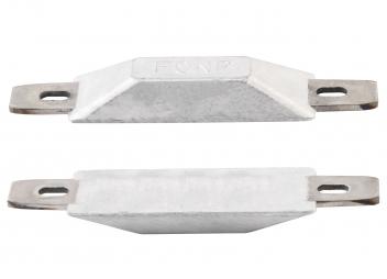 Anodi di zinco galvanici con inserti
