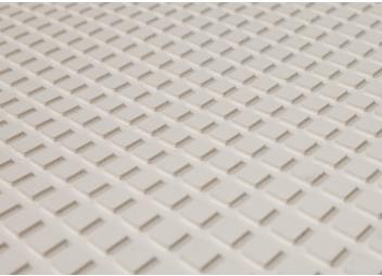 Anti-Slip Deck Covering / white / diamond pattern