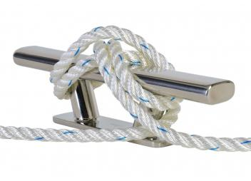 POLYESTER - Three-Strand Mooring Lines / white