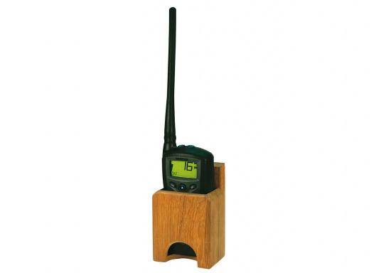 Teak Radio Holder