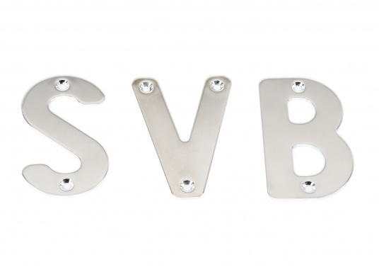 Stainless Steel Letters and Numbers