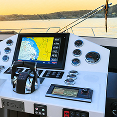GPS & Seekartenplotter