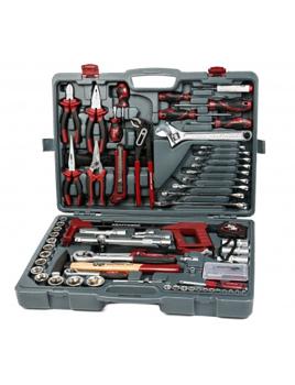 Werkzeugkoffer, Tacker, Sauggriffe
