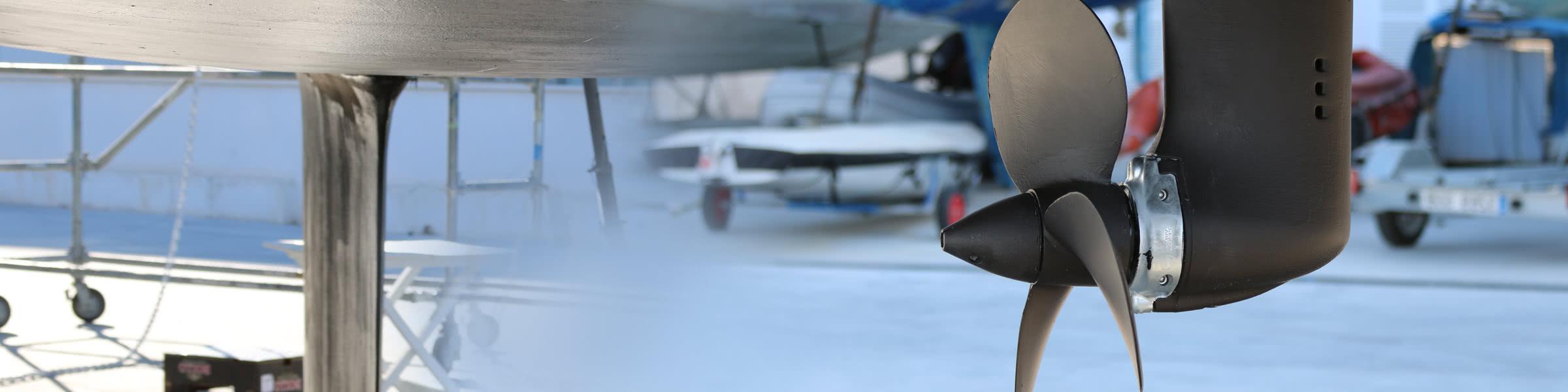Antifouling für Ihren Propeller und Antrieb
