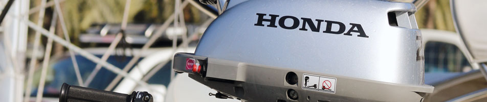 Powerful performance! HONDA Outboard Engines